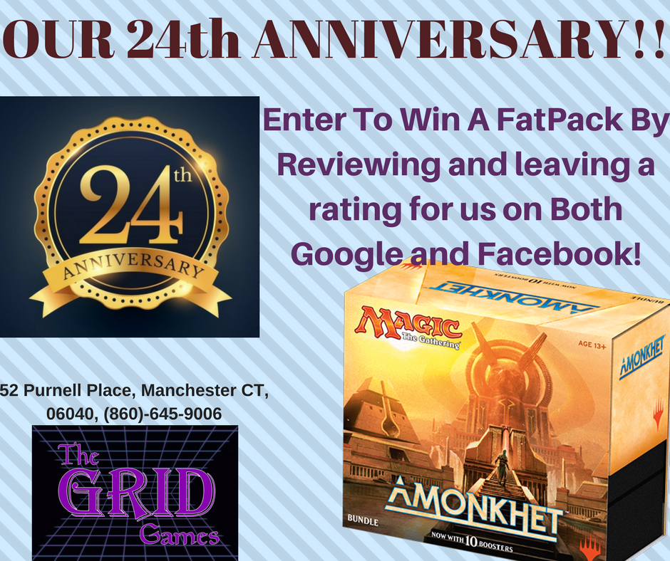 Our 24th Anniversary Giveaway!