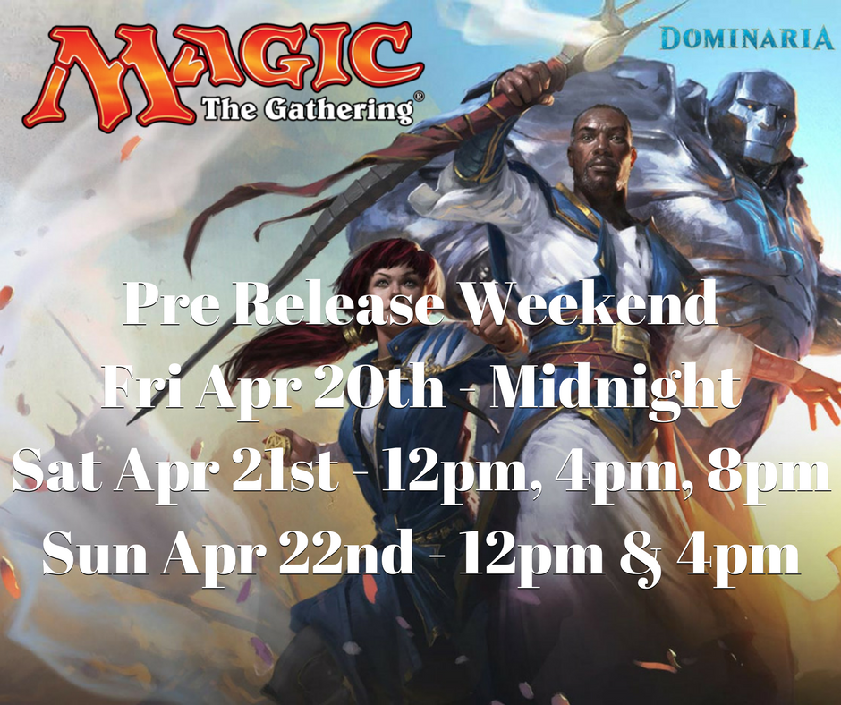 Grid Games Amonkhet Prerelease Schedule